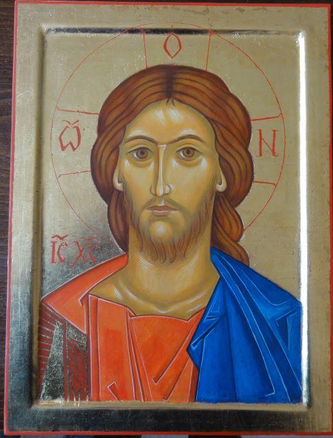0 visage du Christ or - modifié