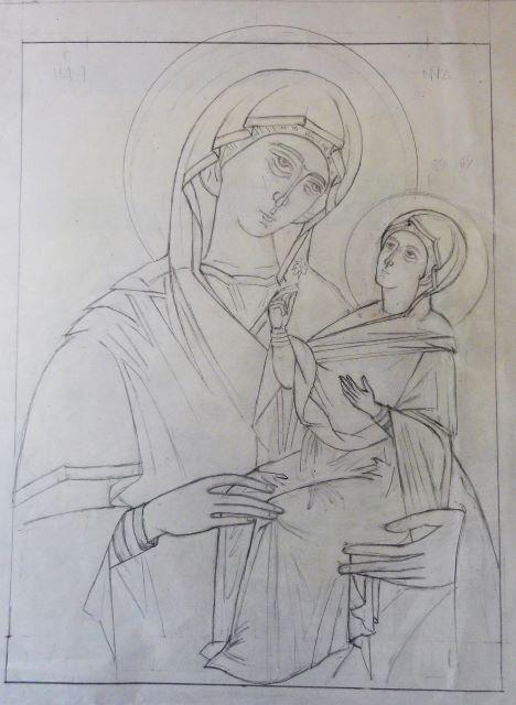 2 Sainte Anne et la Vierge