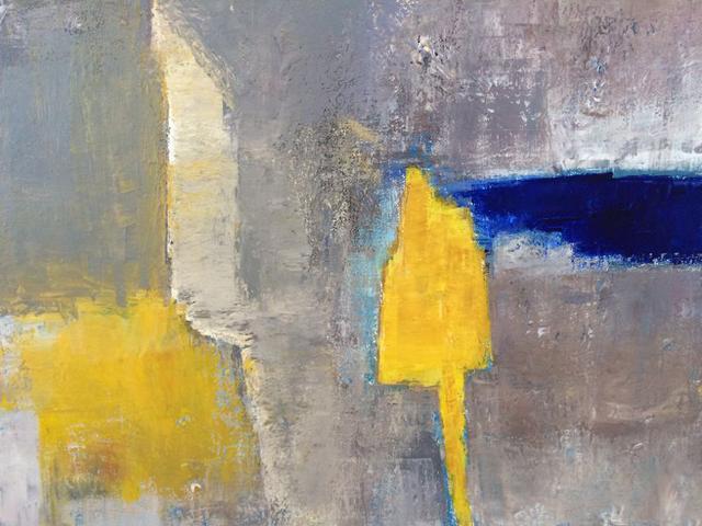 abstrait acrylique