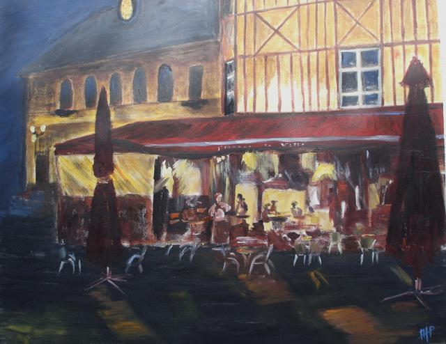 cafe hotel de ville honfleur