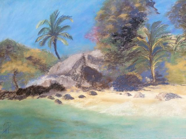 petite plage a Ilha grande
